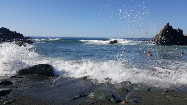 Fräscht fräsande vågor.